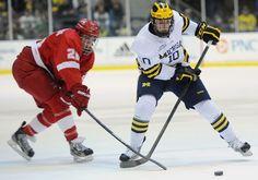Michigan hockey team shakes up lines heading into NCAA tournament