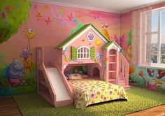 Deciding to Buy a Loft Space Bed (Bunk Beds). – Bunk Beds for Kids Bed For Girls Room, Cool Kids Bedrooms, Little Girl Rooms, Girls Bedroom, Kids Bed Design, Kids Bedroom Designs, Bed Designs, Bunk Beds With Stairs, Kids Bunk Beds