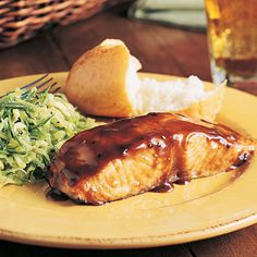 Maple-Glazed Salmon Recipe  SO DELICIOUS! 15 minutes prep to table.
