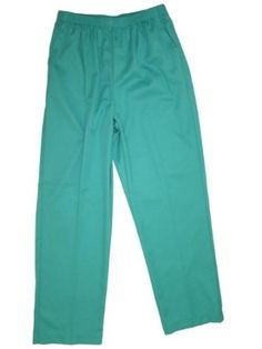 Alfred Dunner Coconut Creek Elastic Waist Pants Turquoise 16W S Alfred Dunner. $25.99