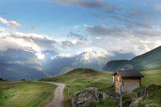 EARLY BIRD TILBUD: SPAR 50,00 EUR | Yoga- og meditationsretreat i hjertet af Alperne, Schweiz | 9. - 12. juli 2015 - Velkommen til dette yoga- og meditationsretreat i et uberørt og magisk sted i Alperne.