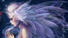 Beautiful purple fairy for my wonderful friend Carl - Fantasy Wallpaper ID 1319601 - Desktop Nexus Abstract
