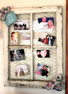 Our Prairie Home: DIY... Barn Window Picture Display