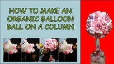 Step by step tutorial Pink Trees, Pink Balloons, The Balloon, Art Tutorials, Diy Tutorial, Organic, Make It Yourself, How To Make, Art Lessons