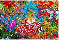 """T E A - TEDDY : EIGELB : ART — """"MEDUSA"""" Medusa Snake, Amsterdam Holland, Copenhagen Denmark, Gallery, Prints, Painting, Art, Egg Yolks, Art Background"""