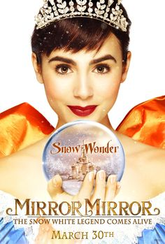 'Mirror Mirror' -- sometimes plot feels very intended for kids but Tarsem Singh's visuals make up for it