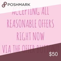 accepting ALL reasonable offers! don't miss out, and don't be shy! let's work something out! Nasty Gal Tops Tank Tops