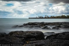 View of the Atlantic Ocean from Reducto Beach in Arrecife. Magnificent volcanic stones with the ocean-side park in the… by adam-aj Atlantic Ocean, Stock Photos, Park, Beach, Water, Outdoor, Gripe Water, Outdoors, The Beach