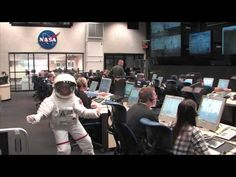 So, you think you're having a nominal countdown and then all of a sudden...    HARLEM SHAKE: WALLOPS STYLE. — at Wallops Range Control Center.