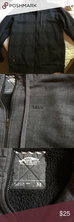 Vans Hoodie Men's Vans Hoodie. Like new condition, only worn a hand full of times Vans Sweaters
