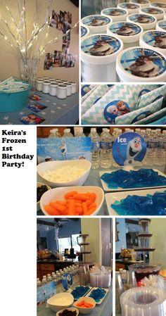 Keira's Disney Frozen Birthday party!