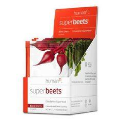 Humann Superbeets Black Cherry 10 Count Box - Circulation Superfood - Premium Ni