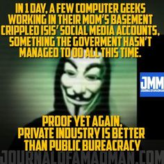 Private industry is better than public bureaucracy.
