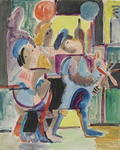 Ernst Ludwig Kirchner, Artisten, 1927