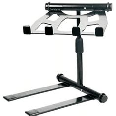 Pyle - Portable, Folding Tabletop DJ Gear Stand for Laptop Mixer or Other Gear - Adjustable Angle and Height Dj Equipment For Sale, Studio Equipment, Dj Stand, Professional Dj, Dj Setup, Dj Gear, Dj Booth, Thing 1, Fitness Studio