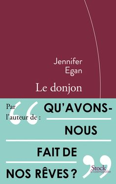 Amazon.fr - Le donjon - Jennifer Egan - Livres