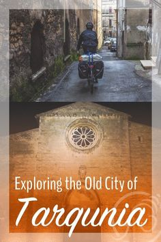What's it like being lost on bicycles in Tarquinia, Italy? And how do Italians give directions? Find out right here. Hint: It's all in the hands... :