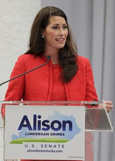 With former governors looking on, Alison Lundergan Grimes files for Senate seat | Politics and Government | Kentucky.com  Support her campaign: https://www.dscc.org/-/defeat-mcconnell