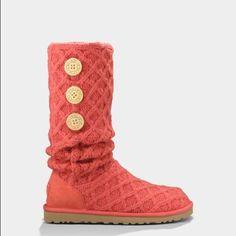 7cedbc7049 Ugg Lattice Cardy Boots Botas Suéter, Botas De Moda, Uggs, Botas Zapatos,