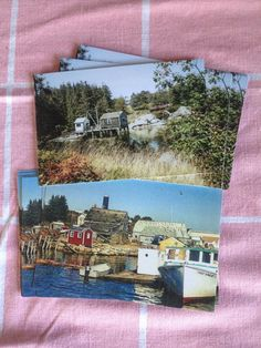 Post Card - 4x6 - Original Art/Photograph of Maine Scene - Price is for ONE Postcard by theRandoMshoE on Etsy