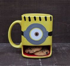 Minion   cool product   cookie   mug   creative   design