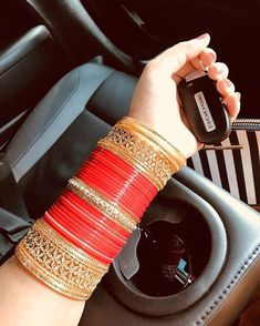 My hsband choice Bridal Jewellery Inspiration, Indian Bridal Jewelry Sets, Bridal Accessories, Indian Accessories, Indian Jewelry, Jewelry Accessories, Silk Bangles, Bridal Bangles, Indian Bangles