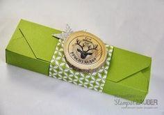 Envelope Punch Box weihnachtlich