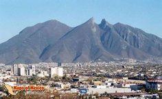 Monterry - Cerro de la silla---the mountains here are beautiful