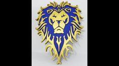 Alliance logo World of Warcraft wall art
