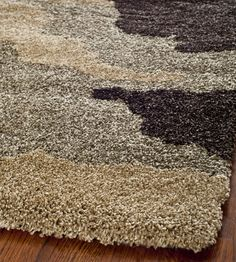 RugStudio presents Safavieh Florida Shag SG453 BEIGE / MULTI Area Rug