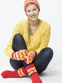 Nordic Yarns and Design since 1928 Leg Warmers, Mittens, Free Pattern, Knit Crochet, Diy And Crafts, Socks, Knitting, Knits, Creative