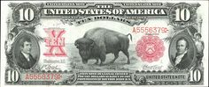 You've seen bison on American coins, but how about on a bill?  Spreading our wings beyond the bald eagle:  Wildlife on United States currency #econed #history