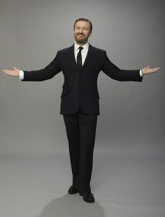 Ricky Gervais - Funny, animal lover, champion of reason