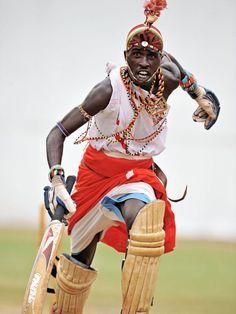 Maasai warrior batsman embarks on run by Carl de Souza.