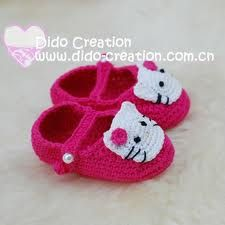 Google Afbeeldingen resultaat voor http://i01.i.aliimg.com/wsphoto/v0/399803687_1/Free-shipping-Handmade-Crochet-Baby-Shoes-Flower-footwear-...