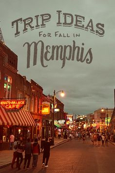Trip Ideas for fall in Memphis, Tennessee | Come experience where it all started and never stopped. Use this itinerary to plan your trip.
