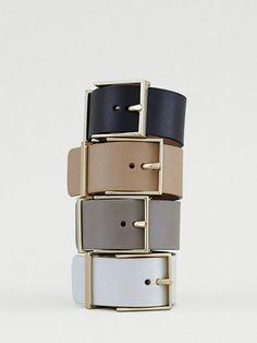 MAISON BOINET(メゾン ボワネ) レザーベルトブレス(ブレスレット・バングル)|Jewel Changes(ジュエルチェンジズ)|ファッション通販 - ファッションウォーカー