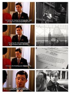 Gossip Girl Chuck & Blair, quite possibly my favorite scene