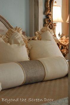 Neutral Color Scheme, Color Schemes, Slider Curtains, Pillow Talk, Master Bedroom, Bed Pillows, Blanket, Interior Design, Hamilton