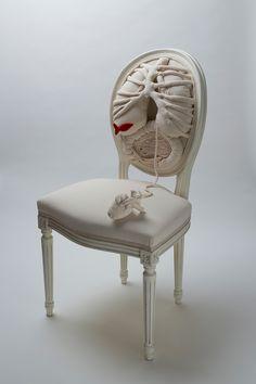 Chaise Anatomique - Pauline Krier & Anouk Cazin