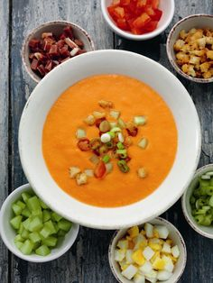 Traditional Andalucian Gazpacho from Rick Stein's Spain