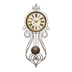 Wrought Iron Regulator Wall Clock available from Walmart Canada. Find Home & Pets online at everyday low prices at Walmart.ca