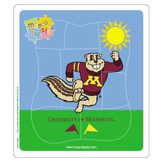 NCAA Minnesota Golden Gophers Mascot Puzzle by Hunter, http://www.amazon.com/dp/B003LMWOIK/ref=cm_sw_r_pi_dp_Q1a3rb1WHD5YS