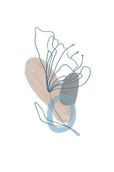 Watercolor Wallpaper, Watercolor Art, Heart Tatoo, Artsy Background, Abstract Line Art, Cute Patterns Wallpaper, Mid Century Modern Art, Minimalist Art, Aesthetic Art
