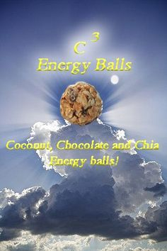 C3 Energy Balls !  Only 10 minutes to prepare. These little guys are loved by all our children and us adults too. They are yummy, they are good for you, they give you energy, and fill you up until lunch or dinner.