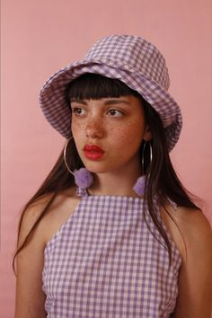 Gingham bucket hat 18 to buy email me at jjcclothing all Red Lips Aesthetic bucket buy email Gingham hat jjcclothinghotma Female Reference, Photo Reference, Portrait Photography, Fashion Photography, Dreamy Photography, Creative Photography, Editorial Photography, Pretty People, Beautiful People