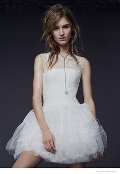 Vera Wang Goes Rock Glam for Fall 2015 Bridal Line
