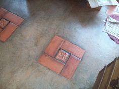 Casa, Quintal, Etc & Tal: Piso de cimento queimado