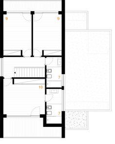 Paulo Rolo House,Second Floor Plan