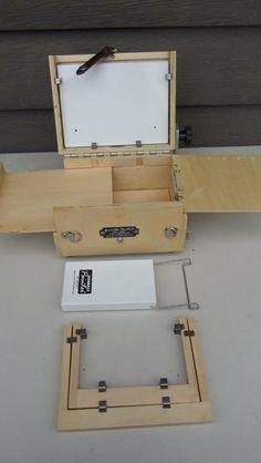 Art Studio in a Box Portable 6 x 8 Pochade by thetravelingstudio, $150.00